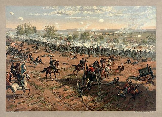 640px-Thure_de_Thulstrup_-_L._Prang_and_Co._-_Battle_of_Gettysburg_-_Restoration_by_Adam_Cuerden